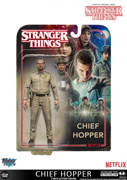 McFarlane - Stranger Things: Chief Hopper (18 cm)