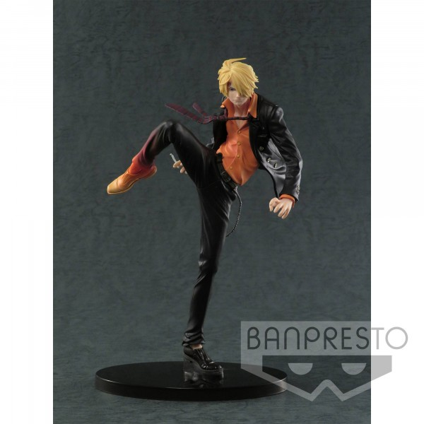 Banpresto - One Piece SCultures Figur Sanji Diable Jambe Color Ver. (18cm)