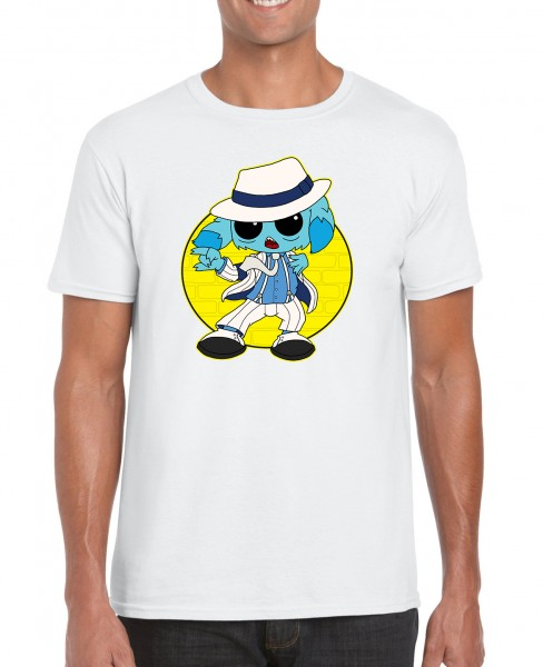 Lootgear x Silentmike - T-Shirt: King of Pops Funky