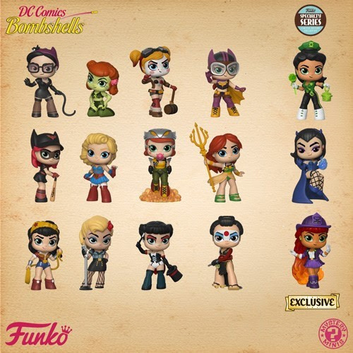 Funko Mystery Minis - DC Bombshells (Specialty Series)