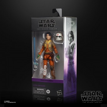 Hasbro - Star Wars Rebels Black Series: Actionfigur 2020 Ezra Bridger