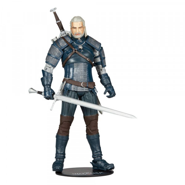McFarlane - The Witcher Actionfigur: Geralt of Rivia (Viper Armor: Teal Dye)