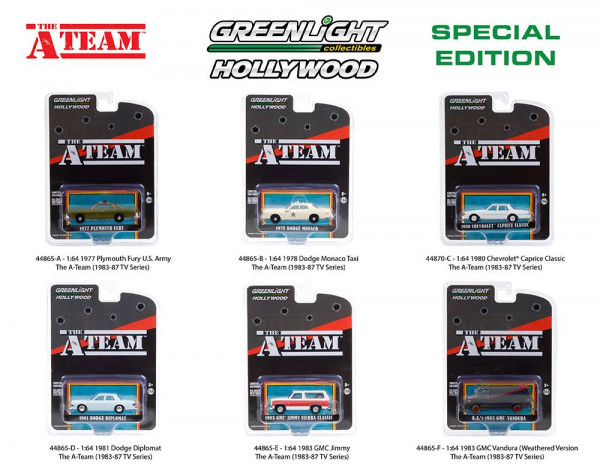 Greenlight Collectibles - Hollywood: A-Team Special Edition