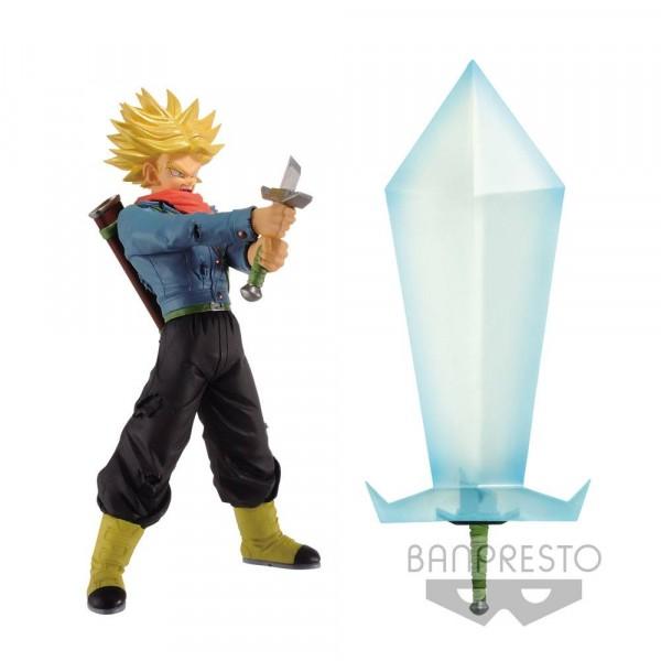 Banpresto - Dragonball Super Super Saiyan 2 Trunks Figur & Blade of Hope 24 cm