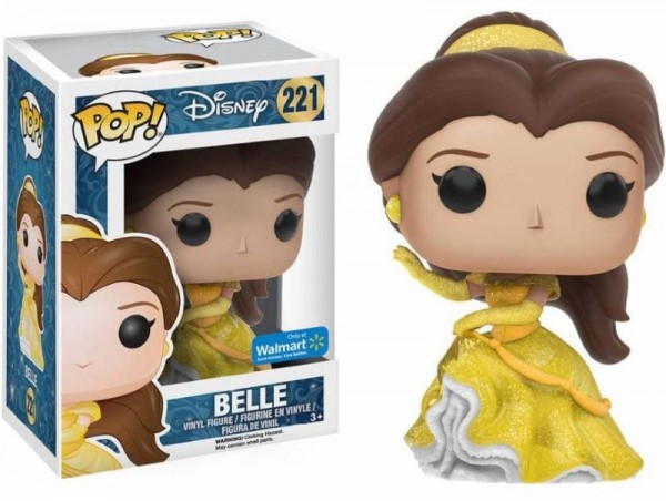 Funko POP! Disney - Beauty And The Beast: Belle Glitterballkleid