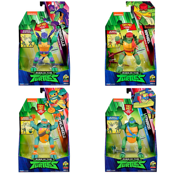 Playmates - Rise of the Teenage Mutant Ninja Turtles: Deluxe (Figur auswählen)
