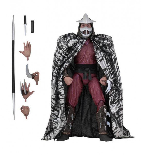 NECA - TMNT: Actionfigur Shredder