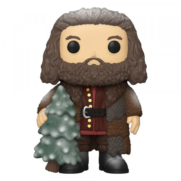 Funko POP! Harry Potter: Holiday Rubeus Hagrid Super Sized 15 cm