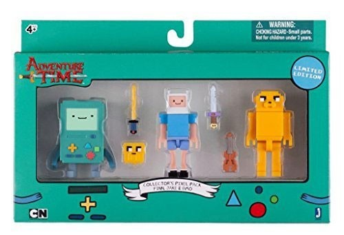 Jazwares - Adventure Time 3er-Pack (7 cm)