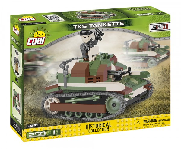 Cobi - 250 Teile SMALL ARMY 2383 TKS TANKETTE