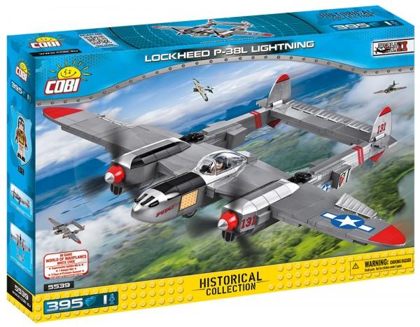 Cobi - 395 Teile SMALL ARMY 5539 LOCKHEED P-38 LIGHTNIN
