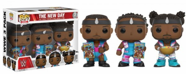 Funko POP! WWE - The New Day 3-Pack