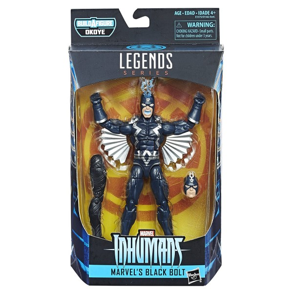 Hasbro - Black Panther Marvel Legends: Black Bolt