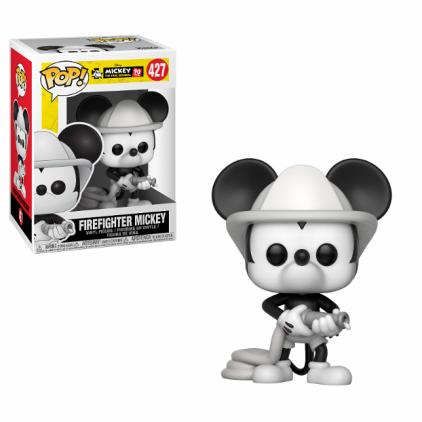 Funko POP! Disney - Mickey's 90th: Firefighter Mickey