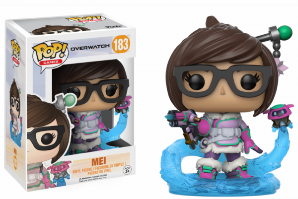 Funko POP! Games - Overwatch: Mei Snowball Colour