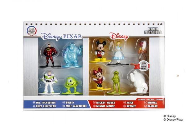 Jada Toys - Nano Metalfigs: Disney 10-Pack