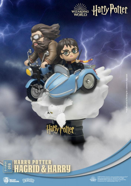 BKT - Harry Potter D-Stage PVC Diorama: Hagrid & Harry