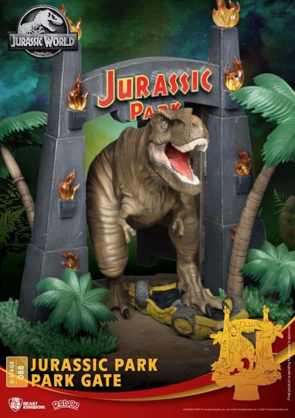 BKT - Jurassic Park - Park Gate Diorama