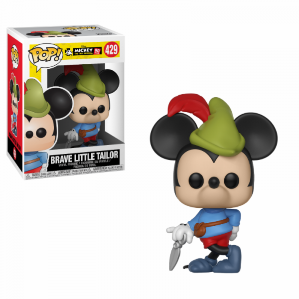 Funko POP! Disney - Mickey's 90th: Brave Little Tailor