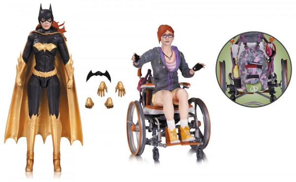 DC Collectibles - Arkham Knight: Batgirl & Oracle Doppelpack 17cm