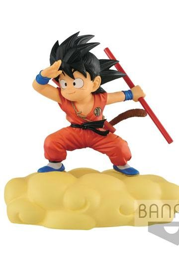 Banpresto - Dragonball Kintoun Figur Son Goku auf Jindujun Normal Color Ver. (13cm)