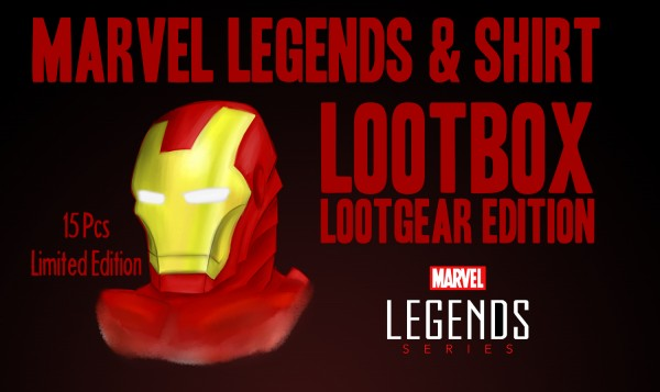 Lootgear Mysterybox Marvel Legends