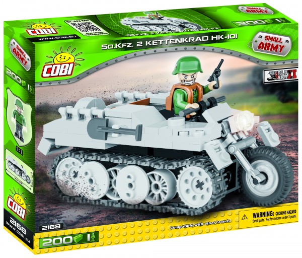 Cobi - WW II Historical Collection: Sd.KFZ 2 Kettenkrad