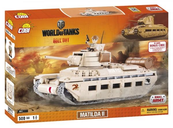 Cobi - 500 Teile SMALL ARMY 3011 WOT MATILDA