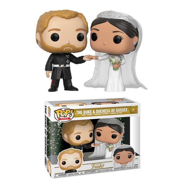 Funko POP! Royals: Duke & Duchess of Sussex