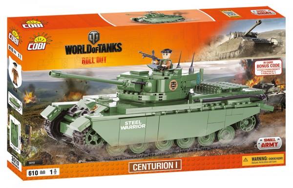 Cobi - 610 Teile SMALL ARMY 3010 WOT CENTURION