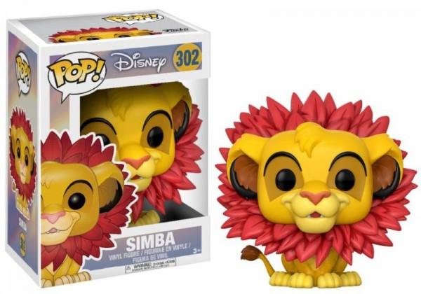 Funko POP! Disney - König der Löwen: Simba mit Blättermähne