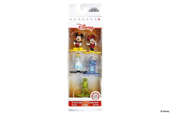 Jada Toys - Nano Metalfigs: Disney 5-Pack