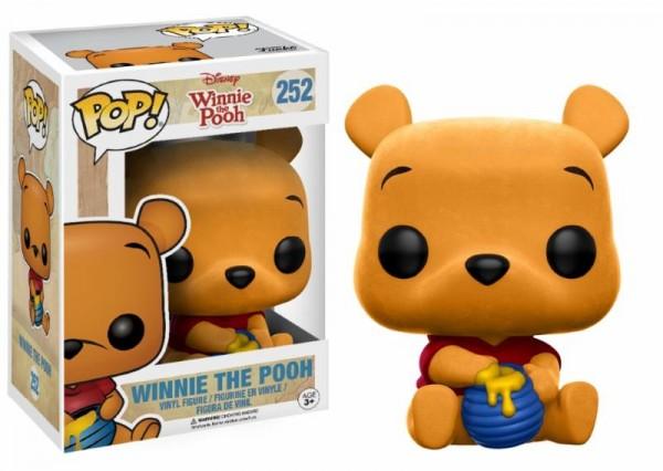 Funko POP! Disney - Winnie The Pooh: Seated Pooh Flocked