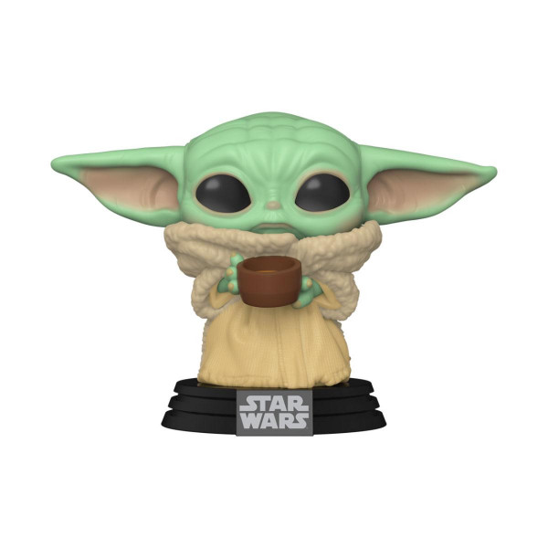 Funko POP! Star Wars The Mandalorian: The Child w/Cup