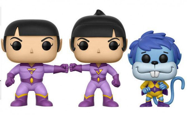 Funko POP! SDCC - Heroes: Wonder Twins 3er-Pack (Zan, Jayna & Gleek)
