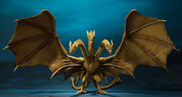 Tamashii Nations - Godzilla: King of the Monsters 2019 S.H. MonsterArts Actionfigur King Ghidorah 25