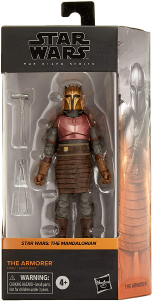 Hasbro - Star Wars The Mandalorian Black Series: Armorer