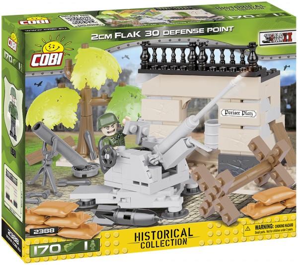 Cobi - 170 Teile SMALL ARMY 2388 2CM FLAK 30 DEFENSE POINT