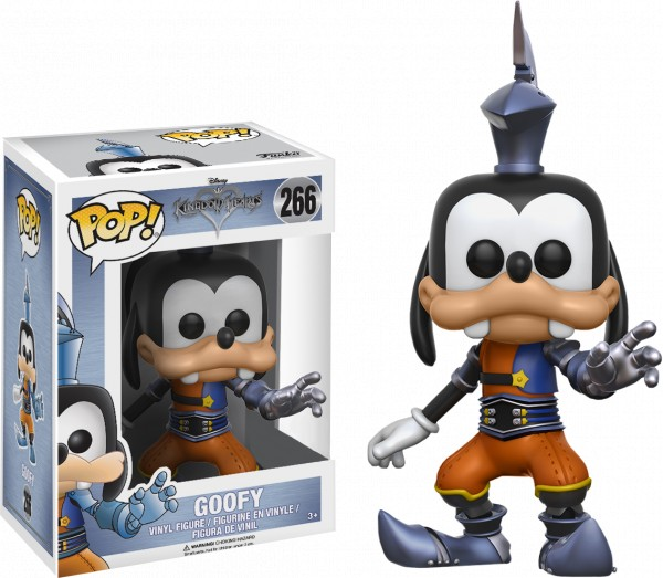 Funko POP! Games - Kingdom Hearts: Armoured Goofy Limited Edition