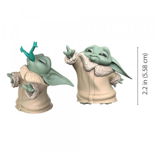 Hasbro - Star Wars Mandalorian Bounty Collection: Figuren 2er-Pack The Child Froggy Snack & Force Mo