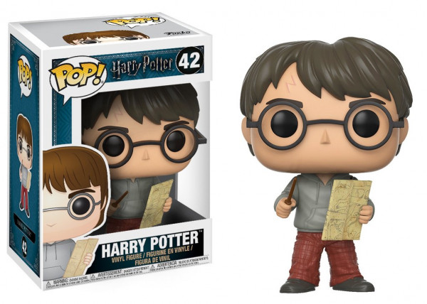 Funko POP! Harry Potter: Harry with Marauders Map