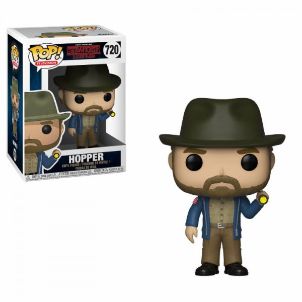 Funko POP! TV - Stranger Things: Hopper w/Flashlight