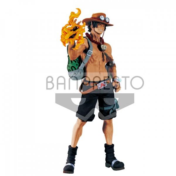 Banpresto - One Piece Big Size Figur Portgas D. Ace (30cm)