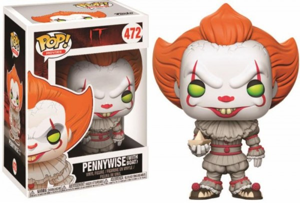 POP! Movies - Es: Pennywise With Boat