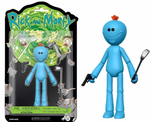 Funko Action Figure - Rick and Morty: Meeseeks