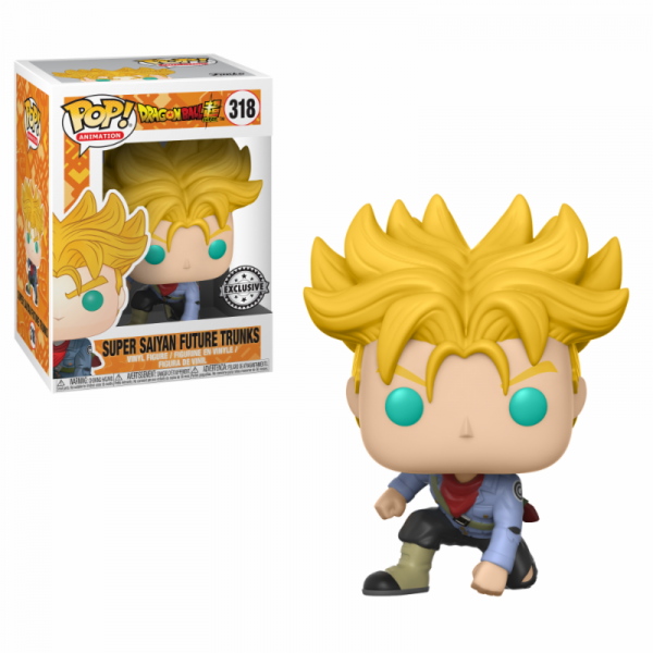 Funko POP! Animation - Dragonball Super: Future Trunks Super Saiyan