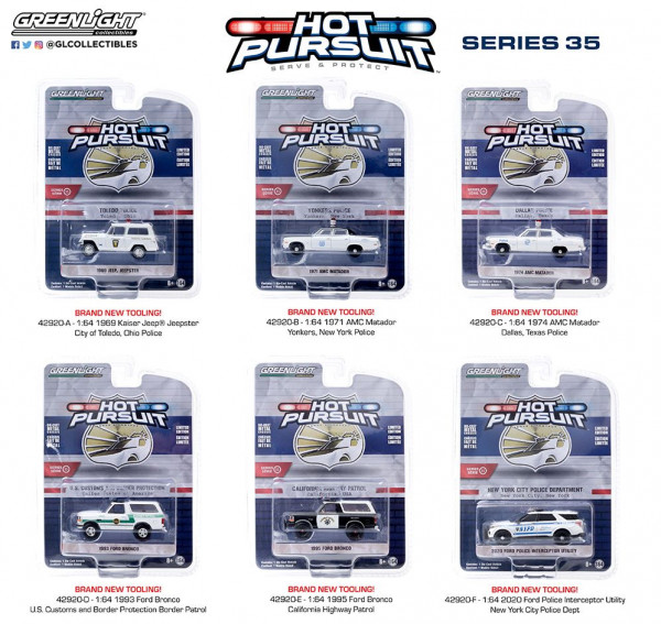 Greenlight Collectibles - Hot Pursuit: Serie 35