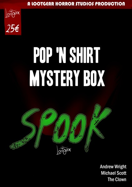 Lootgear Instantloot Pop 'n Shirt Horror Spook