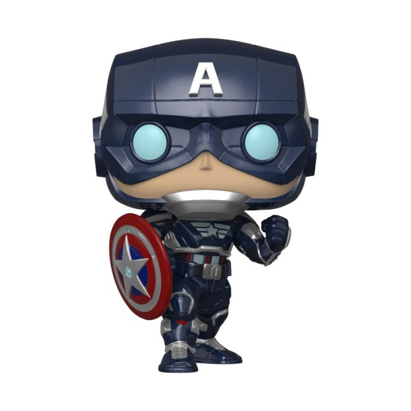 Funko POP! Games - Marvel's Avengers 2020: Captain America