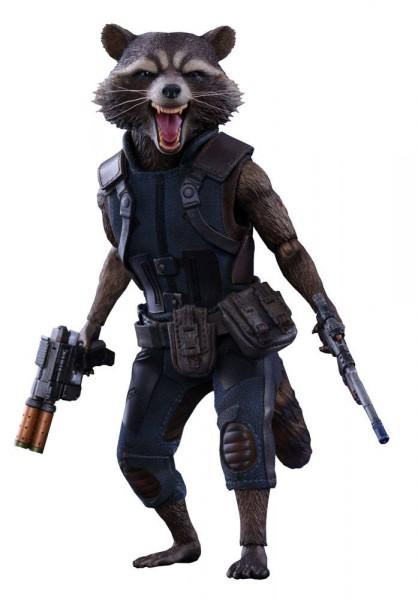 Hot Toys - Guardians of the Galaxy Vol. 2 Movie Masterpiece Actionfigur 1/6 Rocket Raccoon 16 cm